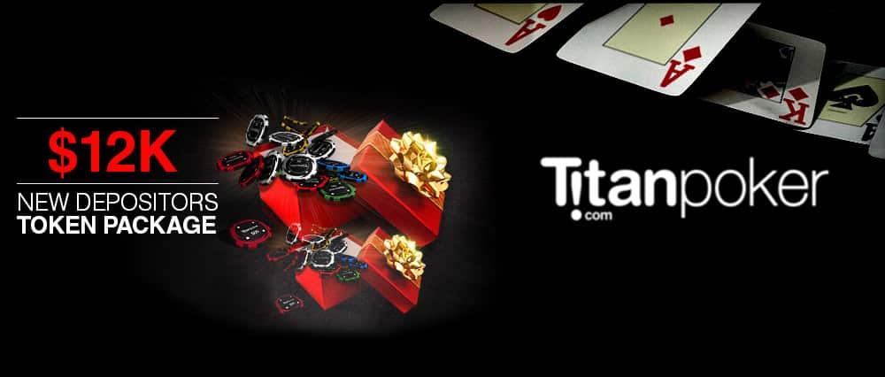 Фрироллы с розыгрышем $12 000 гарантированных призов для внесших первый депозит на Titan poker.